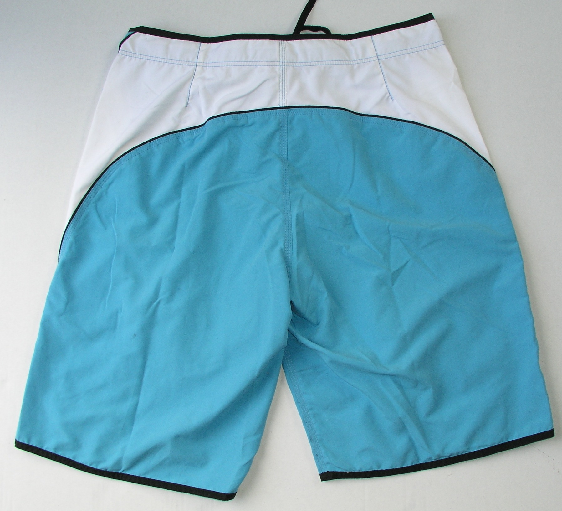 boardshort bleu back