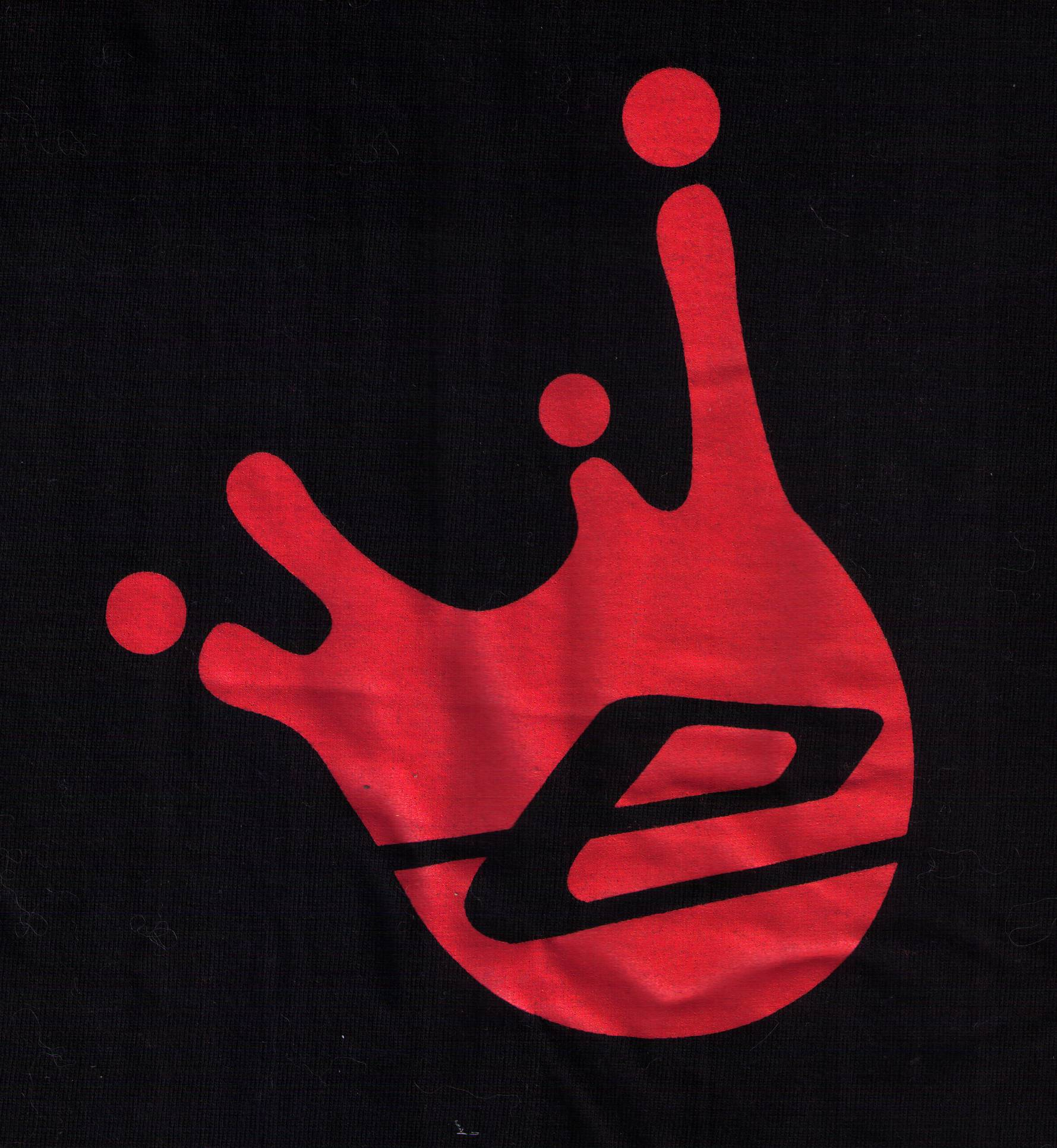 logo splash rouge-noir